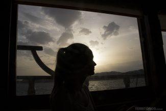Pôr do sol nas ilhas gregas