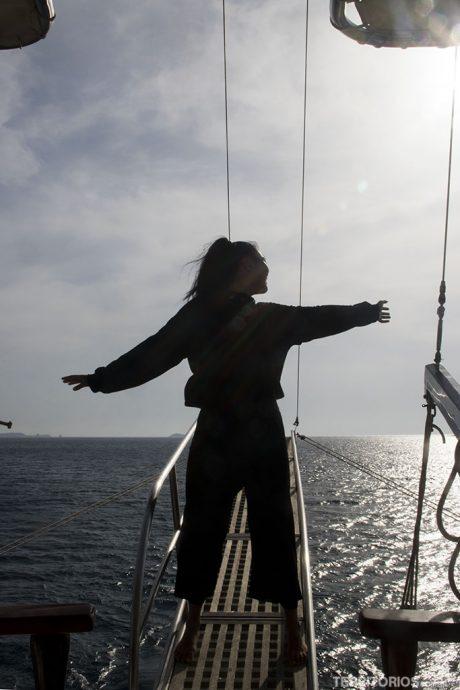 Sentindo a brisa das ilhas gregas