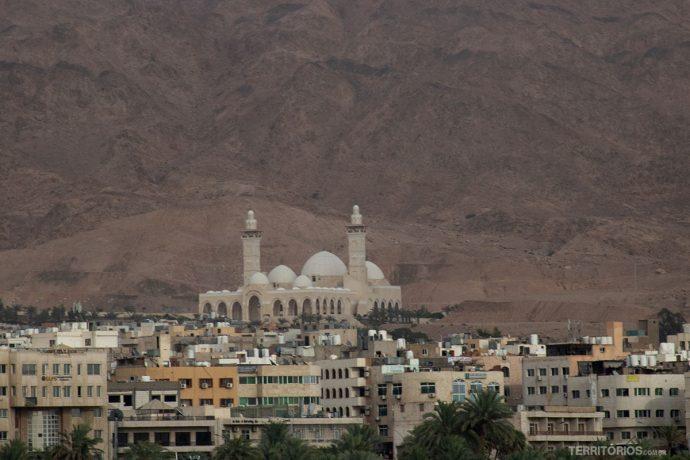 Mesquita vista do barco