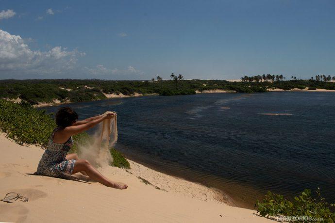 Virando croquete na Lagoa do Maceió