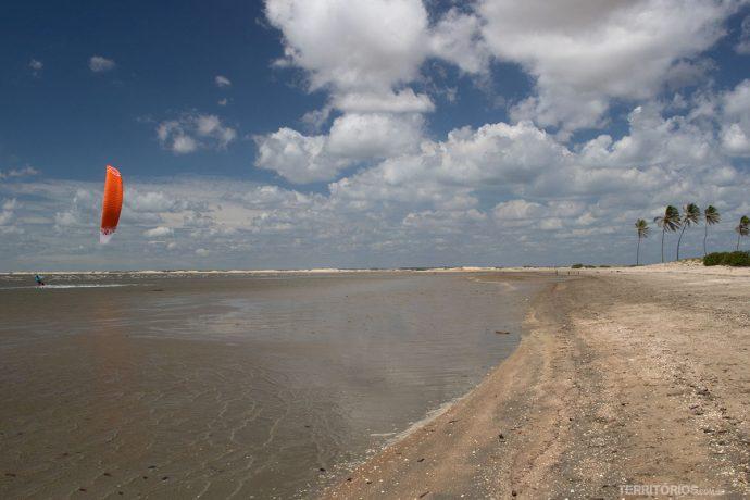 Praias desertas perto de Tutóia
