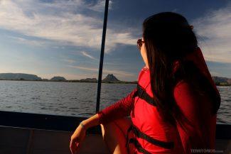 Rio Tocantins no passeio 3 Encantos