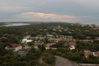 Vista do Ponce de Leon, um dos faróis na Flórida