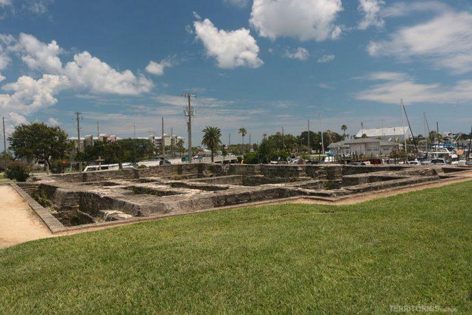 Ruínas do Old Fort Park
