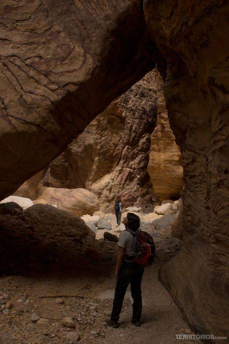 Túneis de pedra