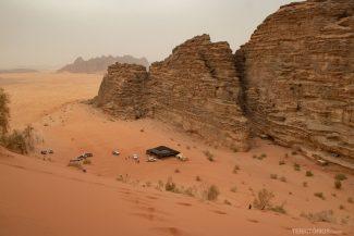 Duna de areia pesada para subir, mas vale pela vista