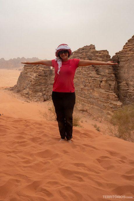 No alto das dunas