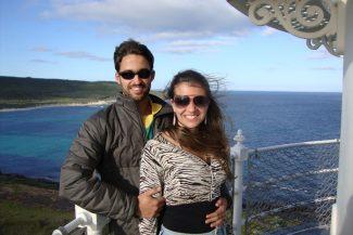 Leandro Martins e Juliana Gadret