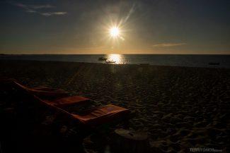 Praia Barra Grande no fim de tarde