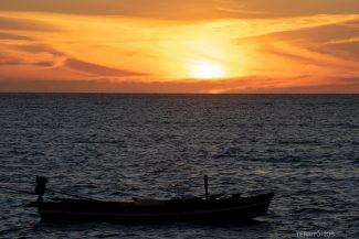 Praia Barra Grande no pôr do sol