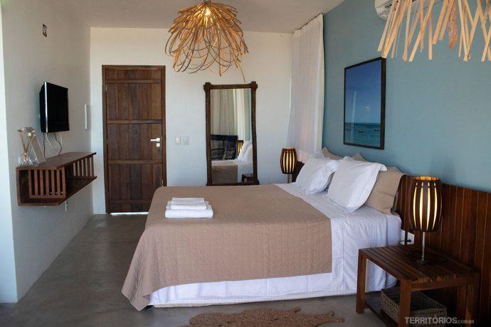 Suíte da Pousada Manati é um dos lugares mais elegantes de onde ficar no Nordeste