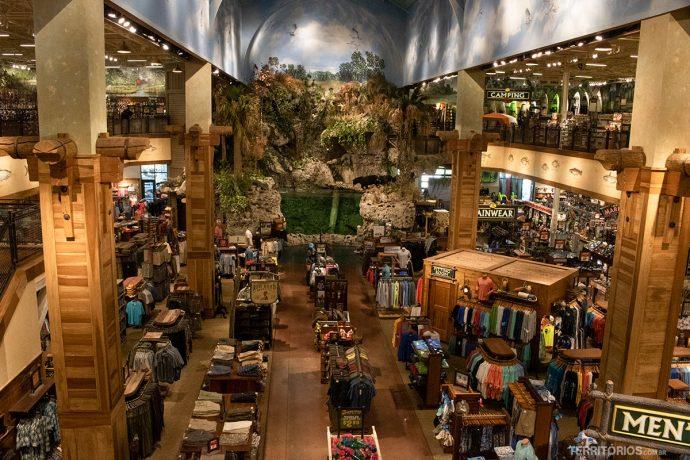 Bass Pro Shops para Compras na Flórida
