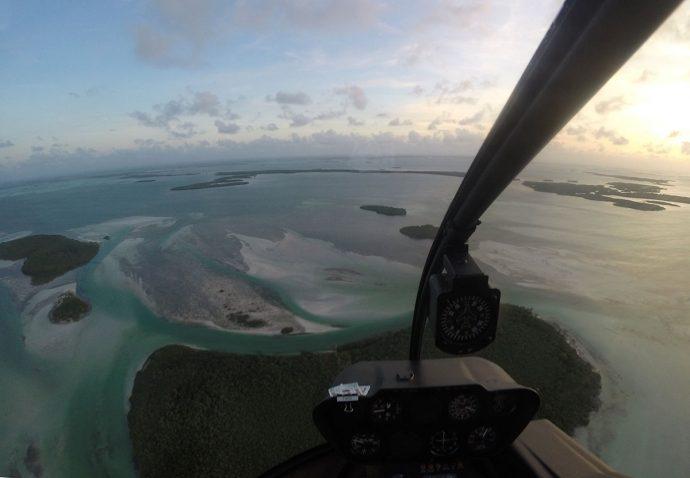 Antes do pôr do sol (crédito Air Adventure)