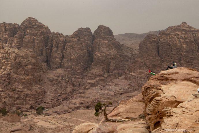 Montanhas ao redor de Petra