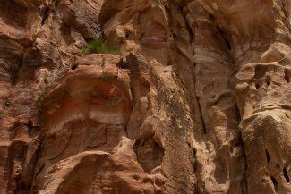 Textura das rochas de Petra
