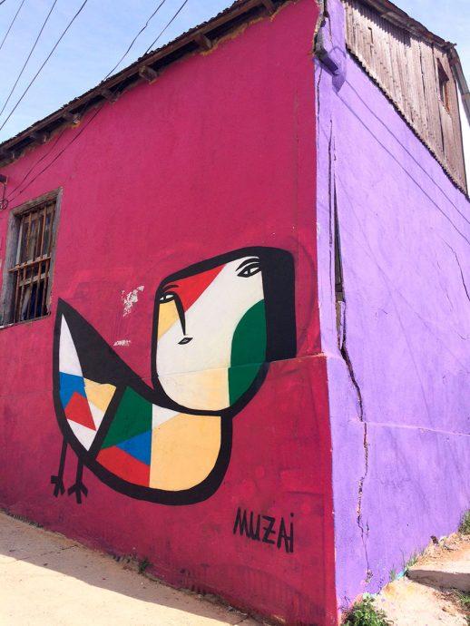 Graffiti de Muzai