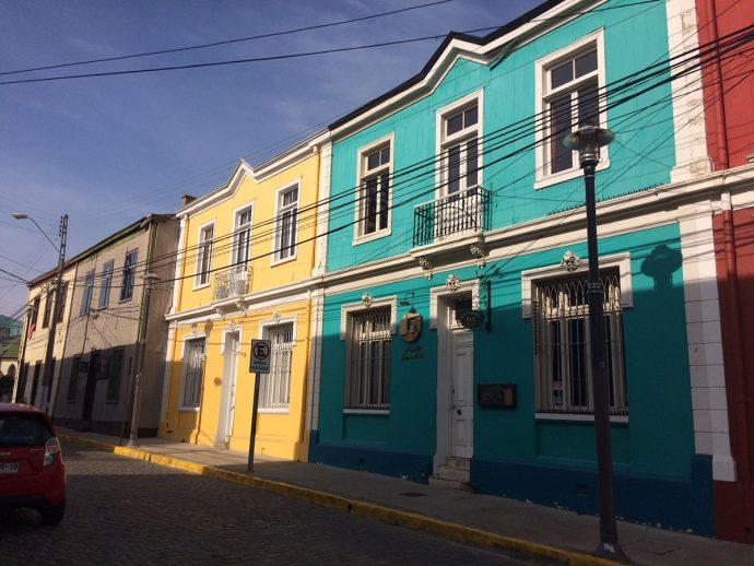 Casas coloridas do Certo Concepción
