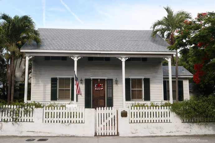 Casa típica em Key West
