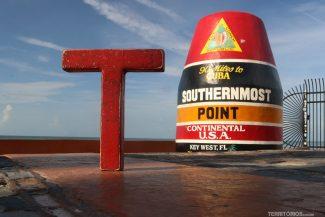 Ponto mais extremo sul dos Estados Unidos fica quase 150 km de Cuba