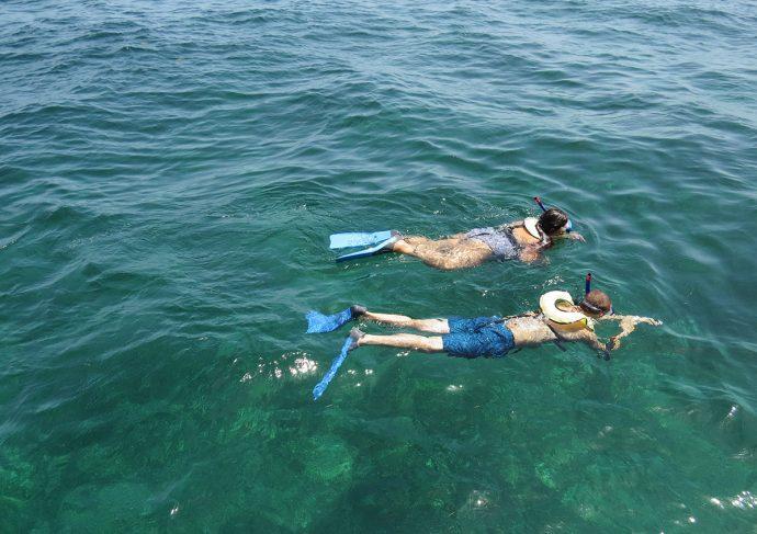 Snorkel no Caribe