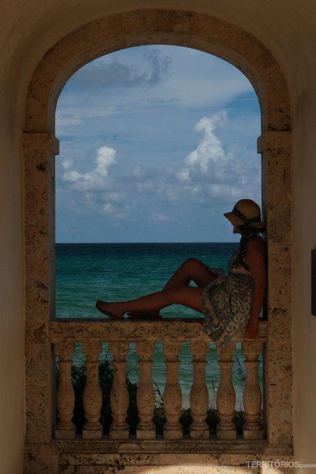 Cenário pronto para fotos em Palm Beach