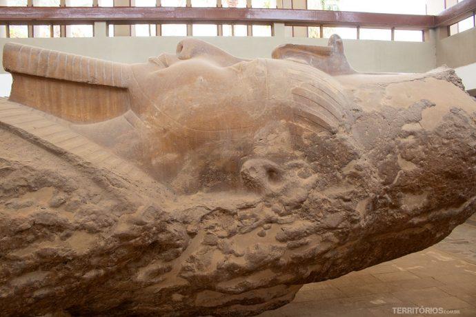 no MuseuMitRahina, em Mênfis