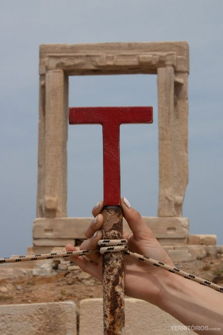 Em Paros, na Grécia