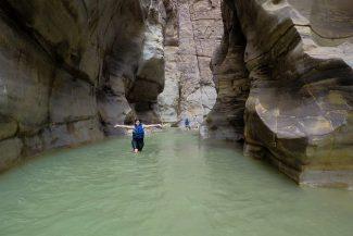 Curtindo um monte o banho de rio
