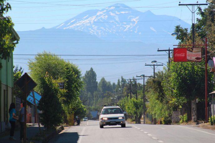 Cenários no Chile de carro