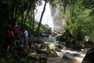 Cascata do Moinho no Sitio Campiol