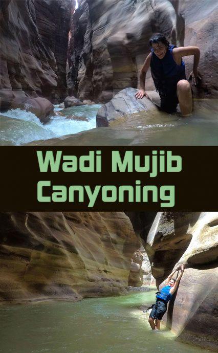 Wadi Mujib para salvar no Pinterest