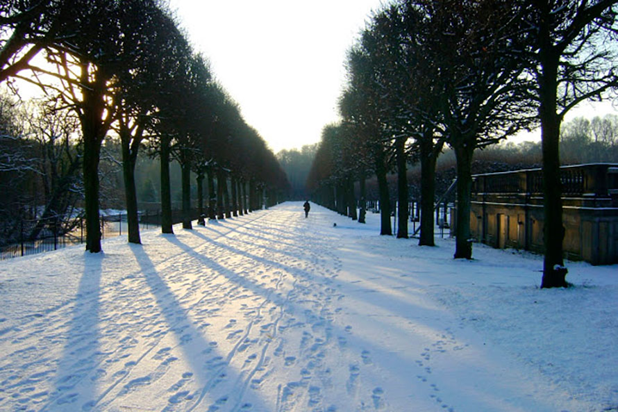 Inverno em Brühl