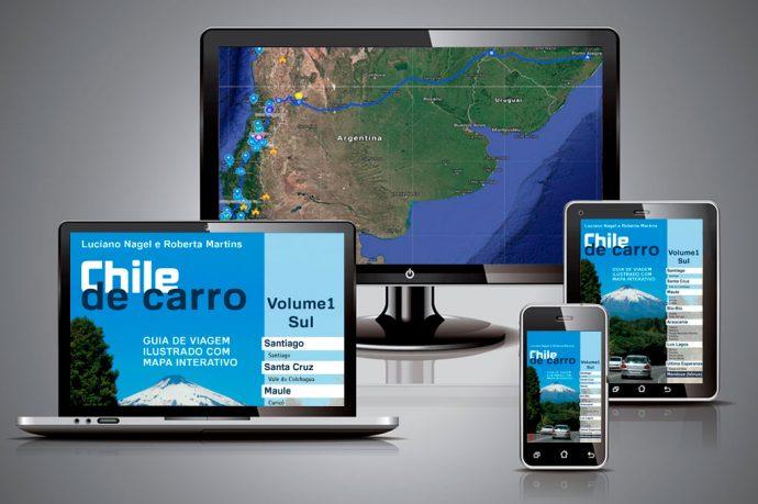 Guia Chile de Carro em PDF pode ser lido em múltiplas plataformas como TV, computador, tablet e celular