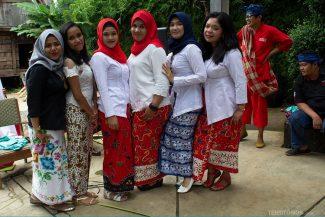 Muçulmanas em Bandung, Java