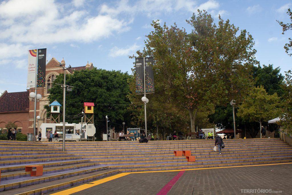 City Tour grátis passa pelo Perth Cultural Center