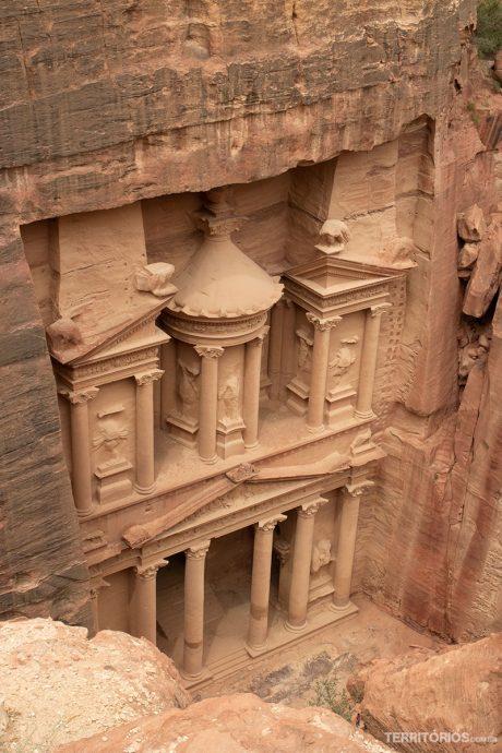 Petra, o atrativo mais visitado na Jordânia