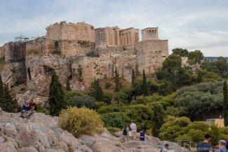 Acrópole vista do Monte Areopagus