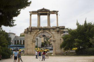Arco de Adriano (século II d.C)