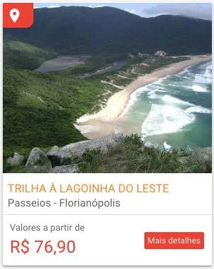 Tour para fazer Trilhas em Florianópolis