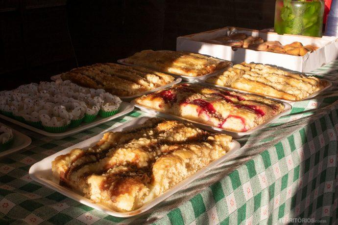 Diversas cucas alemãs são oferecidas em todo Caminho das Cascatas