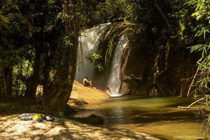 Poço da Ducha no Parque Estadual de Ilhabela
