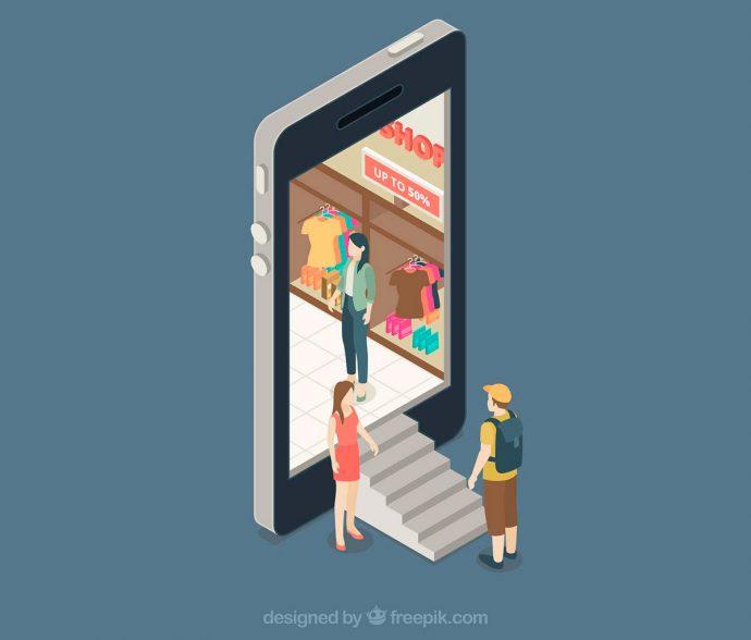 Comprar pelo celular