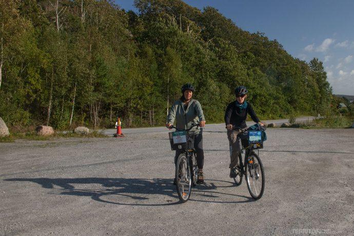 12 km de bicicleta pelas zonas urbana e rural de Tjörn