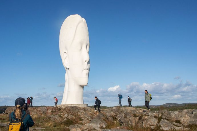 Escultura Anna de Jaume Plensa
