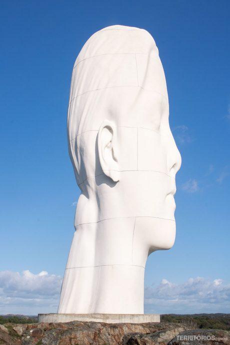 Escultura Anna no Pilane Sculpture Park