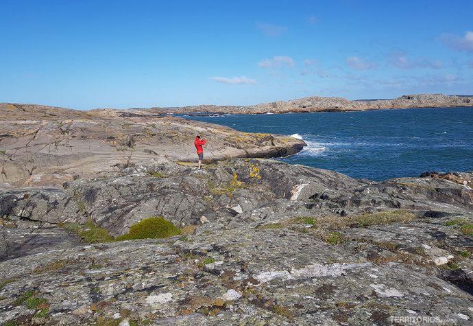 Ilhota rochosa de 3 bilhões de anos