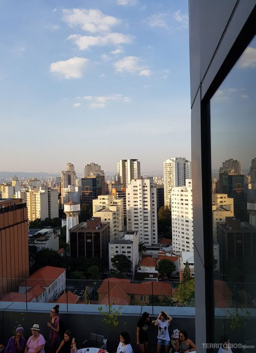 Animation on the terrace SESC Paulista