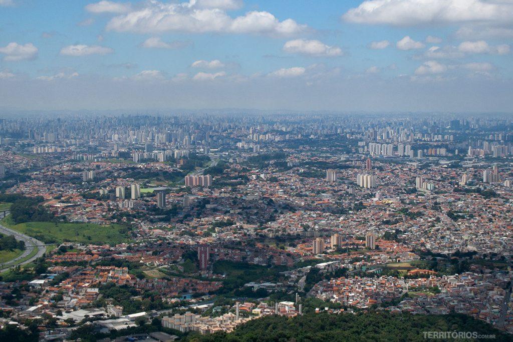 São Paulo saw from above