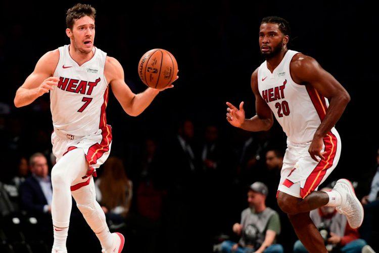 Jogadores do Miami Heat