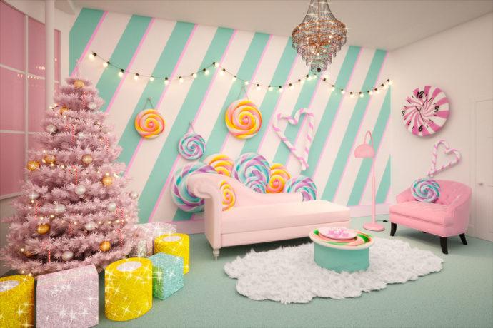 Candy Cane House (crédito: divulgação)